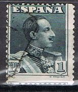 Sello 1 Pts Alfonso XIII Vaquer, VARIEDAD Descentrado, Salto De Peine, Num 321 º - 1889-1931 Reino: Alfonso XIII