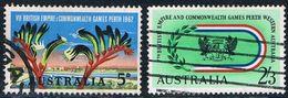 Australie - 7e Jeux De L'Empire Et Du Commonwealth à Perth 282/283 Oblit. - 1952-65 Elizabeth II : Ed. Pré-décimales