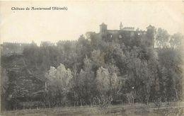- Herault - Ref- A639 - Chateau De Montarnaud - Chateaux - Carte Bon Etat  - - France
