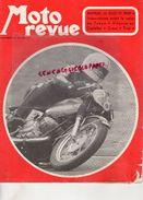 MOTO REVUE - N° 2046- 16-10-1971- GUZZI V7 SPORT-SALON TOKYO- MEYER AU CASTELLET-KAWASAKI-CROSS-TRIAL-ROUGERIE -SAUMUR- - Moto