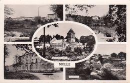 Cp , 79 , MELLE , Multi-Vues - Melle