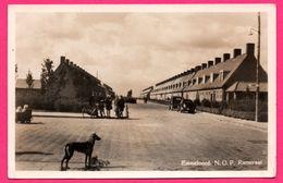 Carte Photo - Emmeloord - N.O.P. Rietstraat - Vieilles Voitures - Poussette - Animée - ECHTE FOTO - Emmeloord
