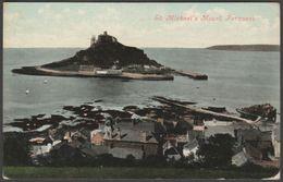 St Michael's Mount, Penzance, Cornwall, 1908 - Valentine's Postcard - St Michael's Mount