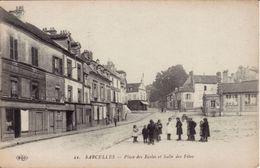SARCELLES Place Des écoles Et Salle Des Fêtes - Sarcelles
