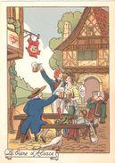 CPSM LA BIERE D'ALSACE - Postcards