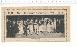 2 Scans Humour De 1931 Membres De La Commune Libre Du Vieux Montmartre / Cuisine Sauce Fourneau Ancien   209PF2 - Sin Clasificación
