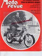MOTO REVUE -N° 1998-17-10-1970-HERCULES-WANKEL-AUTRICHE-500 SUZUKI ROCA-125 DERBY-PARIS COLOGNE-JAWA CZ-POCH NEUILLY- - Moto