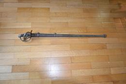 Sabre Français De Cuirassier An XIII 1814 - Blankwaffen