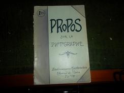 REVUE ANCIENNE PROPOS SUR LA PHOTOGRAPHIE 1907 - Photographs