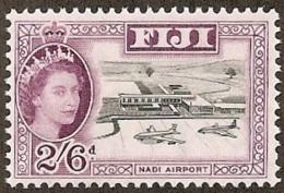 Fiji,  Scott 2017 # 184,  Issued 1962,  Single,  MNH,  Cat $ 2.25,  Planes - Fiji (1970-...)