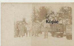 FK, Entladen Der Feldbahn - Weltkrieg 1914-18