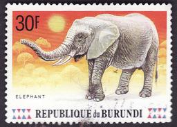 BURUNDI  1991 -   YT  947   -  Elephant -  Oblitéré - Burundi