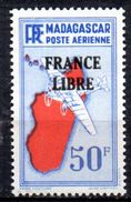 Col 4/ Madagascar  PA   N° 51  Neuf XX MNH  Cote 15,00€ - Poste Aérienne