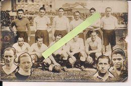 1940 Finale Coupe Charles Simon Racing Club De France Olympique Lillois Coupe De France 39/45 Ww2 2wk 1939/194 - Sports