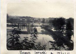 77 MEAUX Inondé Photo Originale En 1930-31 - Meaux
