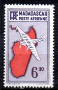 Col 4/ Madagascar  PA   N° 22 à 24  Neuf X MH  Cote 1,90€ - Madagascar (1889-1960)