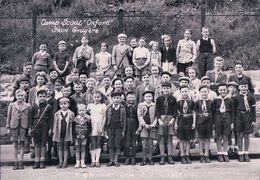 """Jaun Gruyère Suisse, Camp Scout """"Oxford"""" (929) 10x15 - Scoutisme"""