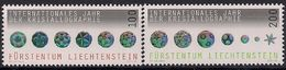 2014 Liechtenstein Mi. 1722-3 **MNH   Internationales Jahr Der Kristallographie - Ongebruikt