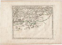 Carte De Flandre Ou Sont Les Environs D'Oudenarde, Ninove, Gerardmont - Robert - 1748 - Autres