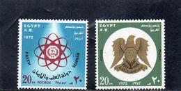EGYPTE 1972 ** - Neufs