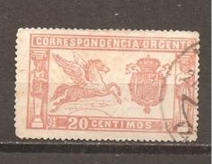 España/Spain-(usado) - Edifil  324 - Yvert  Urgente-2 (o) - Special Delivery