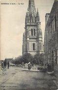 - Cotes D Armor -ref-C798-  Bourbriac - La Tour - Tours - Carte Bon Etat - - Autres Communes