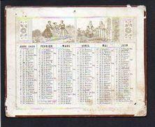 1859 Calendrier Xilographies / Mac-Henry, Rue De La Parcheminerie - Calendriers