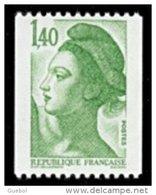 France Roulette N° 2191 ** Liberté De Gandon - Le 1fr.40 Vert - Roulettes