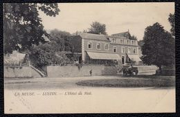 LUSTIN - L'HOTEL DU MIDI -- édit. Rare De Van Den Heuvel -- Avec Attelage - Profondeville