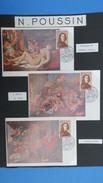 France 1965, 9 Documents Sur N. Poussin (Pour Les Frais De Port  : 4 €) - Brieven En Documenten