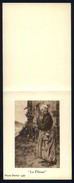 Pierre Favier. Invitation En Deux Volets Au Vernissage De Ses œuvres Récentes Sur Le Velay, Avec Une Gravure, 1937 - Estampes & Gravures