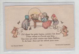 Oh! Disent Les Petits Lapins ...Jésus - Andachtsbilder