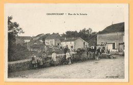 0148 CPA  GRANDCHAMP (Haute-Marne) Rue De La Scierie - Enfants  - Coll. Tondu  ++++++++++++++ - Francia