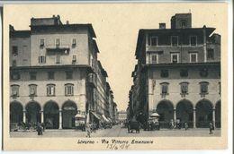 Livorno - Vittorio Emanuele Street - Livorno