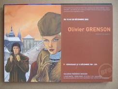 Grenson - Niklos Koda - Carte Promo Format 15*21cm - Livres, BD, Revues
