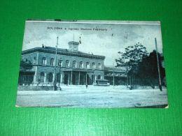 Cartolina Bologna - Ingresso Stazione Ferroviaria 1918 - Bologna
