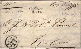 D30 - LOMBARO VENETO - PREFILATELICA DA ASSO 1846 - Italia