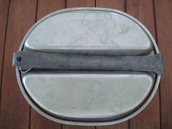 Gamelle US 2 GM - 1944 - Indo -  Indochine. - 1939-45