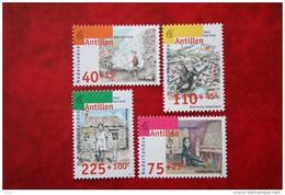 Kinderzegels Child Welfare Kinder Enfant NVPH 1135-1138 1996 MNH POSTFRIS NEDERLANDSE ANTILLEN  NETHERLANDS ANTILLES - Niederländische Antillen, Curaçao, Aruba