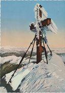 AK Großglockner Gipfelkreuz Gipfel Winter Eis Gletscher A Heiligenblut Kals Matrei Kaprun Lienz Burg Winkl Kärnten Tirol - Heiligenblut