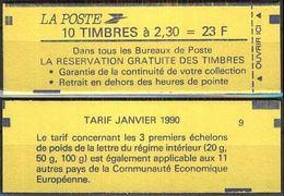 FRANKREICH 1990 MI-NR. 2751 A Markenheft Geschlossen ** MNH - Markenheftchen