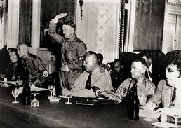 Militaria WW2   - Adolf Hitler à Une Réunion Du Parti Nazi - 1939-45