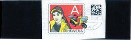 2017 Svizzera - Webstamp (frammento) - Svizzera