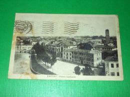 Cartolina Trevio - Piazza Garibaldi 1933 - Treviso