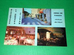 Cartolina Arma Di Taggia - Ristorante La Grotta Da Ivan 1970 Ca - Imperia