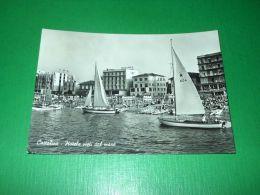 Cartolina Cattolica - Hotels Visti Dal Mare 1962 - Rimini