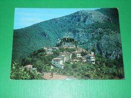 Cartolina Rocca Sinibalda - Panorama 1983 - Rieti