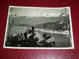 Cartolina Taormina - L' Etna E Scorcio Panoramico 1956 - Messina
