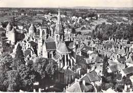 ** Lot De 2 Cartes ** 21 - SEMUR EN AUXOIS : Quartier Notre Dame Et Eglise - CPSM Dentelée Noir Blanc GF - Côte D'Or - Semur