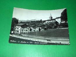 Cartolina Challand-Saint-Anselme - Scorcio Panoramico 1957 - Italia